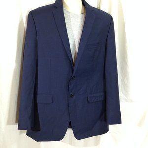 Alfani Mens Slim Fit Navy Blazer Suit Jacket 42L